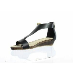 Kenneth Cole Womens Rl06494sy Black Ankle Strap Fl